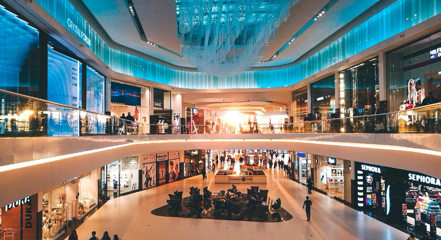 Retail centre offering the perfect use case of SpatialCRM